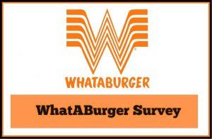 Whataburger Survey Start